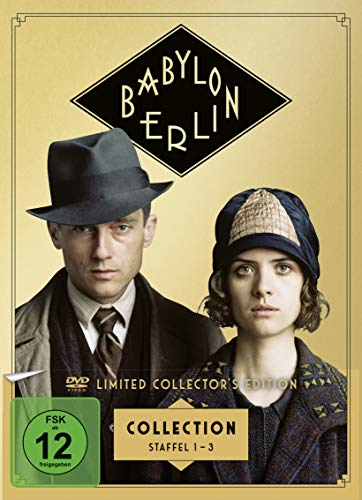Produktbild von Babylon Berlin - Staffel 1-3 [Collector's Edition] (exklusiv bei Amazon.de) [Limited Edition] [8 DVDs]