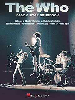 The Who - Easy Guitar Songbook