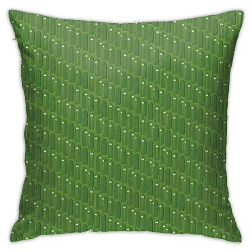 Bue Time Pillow Cases Pickle Seamless Throw Pillow Cover Decorative Pillowcases