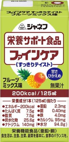 ジャネフ ファインケア フルーツミックス味 125mL×12個