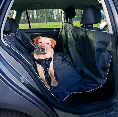 Trixie 13472 Auto-Schondecke, 1,45 × 1,60 m, schwarz