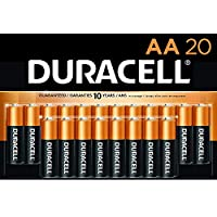 Duracell - CopperTop AA Alkaline Batteries - long lasting, all-purpose Double A battery for household and business - 20 Count from Duracell
