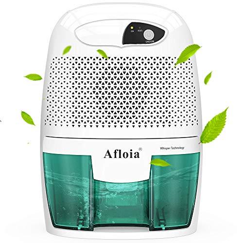 Afloia Mini Deshumidificador 500Ml Portátil Y Silencioso, Purifica Aire Y...