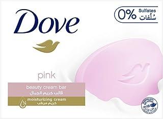 صابونة الجمال من دوف باللون الزهري، 135 غرام