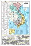 Cool Owl Maps Vietnam War Conflict Wall Map Poster...