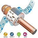 Micrófono Karaoke Bluetooth, Micrófono Inalámbrico Bluetooth con ...