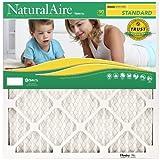NaturalAire Standard Air Filter, MERV 8, 18 x 30, 1-inch, 12-Pack