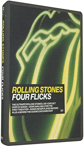 The Rolling Stones - Four Flicks [Alemania] [DVD]