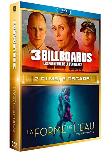 3 Billboards - Les panneaux de la vengeance + La Forme de l'eau [Francia] [Blu-ray]