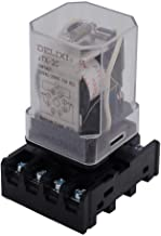 TWTADE/JTX-2C, MK2P-I DPDT Power Relay with Plug-in Terminal Socket Base, AC 24V Coil, 8 Pin 2NO 2NC (Quality Assurance for 1 Years) AC 24V