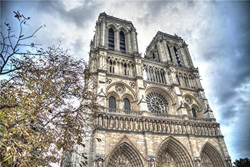 Rompecabezas De 1000 Piezas para Adultos Disparo De Ángulo Bajo De La Catedral