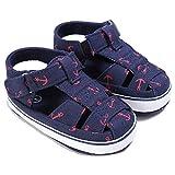 Geagodelia Prewalker - Sandalias de verano para bebé, zapatos informales para belén turquesa 12-18 Meses