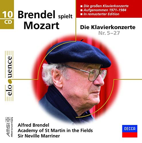 Alfred Brendel & Wolfgang Amadeus Mozart