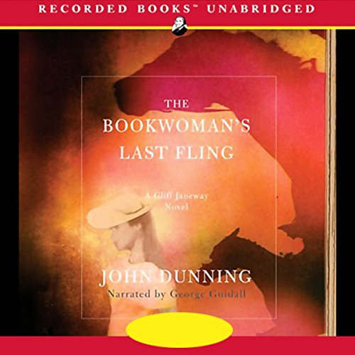 The Bookwoman's Last Fling audiobook cover art