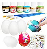 Xinge 6 Pack DIY Easter Squishy Toys Includes Eggs Rising Squishy Toys Party Favor for Kids (Easter-egg1)