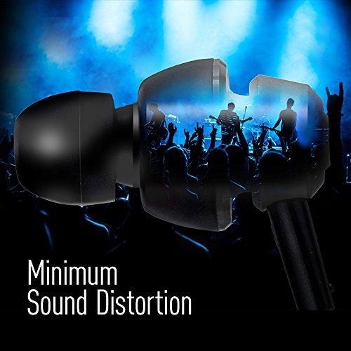 Panasonic drops360° Premium Best in Class in-Ear-Stereo-Kopfhörer mit Mikrofon + Controller rp-hjx6m-a (Metallic Blau) mit Reise Tasche, kraftvoller Bass, iPhone, Android kompatibel