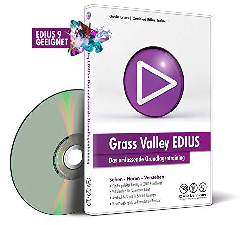 DVD Lernkurs - Der umfassende Grundkurs für Grass Valley EDIUS als Downloadversion