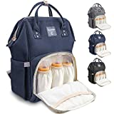 Conleke Diaper Bag Backpack for Baby Care, Multi-Functional Waterproof Travel Backpack Nappy Tote