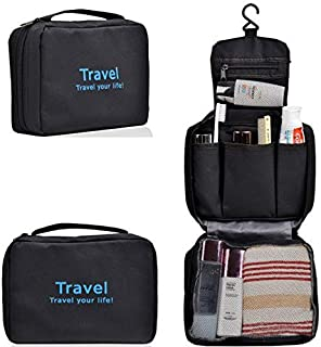 Waterproof Toiletry Bags Cosmetic Bag With Hook Receive Bag Portable Finishing Lf0404