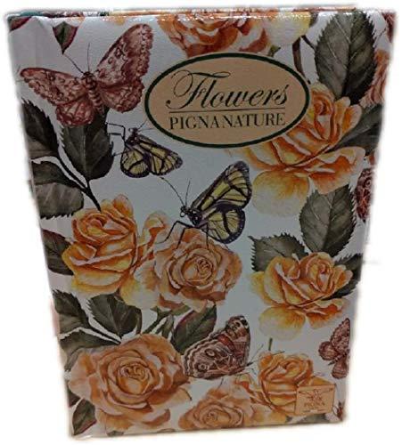 AGENDA DIARIO SCUOLA PIGNA NATURE FLOWERS 2021 2022 16 MESI 16.5 x 11.8 cm + Omaggio Penna Colorata + Omaggio Segnalibro