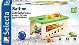Selecta 62017battino, klopfbank de Madera, 22cm