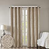 Blackout Curtains For Bedroom , Luxury Light Black...