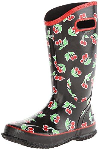 BOGS Women's Fruit Rain Boot Black Size: 4 UK