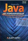 Apprendre java, les fondamentaux. Formation vidéo 5h50. Formez-vous aux fondamentaux du langage et au programme orienté objet.Dvd-ROm PC Mac Linux.