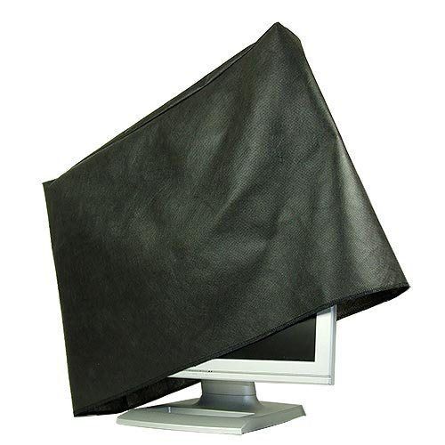 ROTRi reg; maßgenaue Staubschutzhülle für Monitor - schwarz