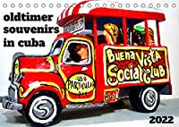 Oldtimer Souvenirs in Cuba (Tischkalender 2022 DIN A5 quer): Oldtimer-Modelle als bunte Souvenirs in Havanna (Monatskalender, 14 Seiten )