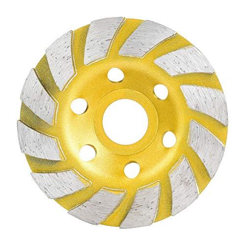 Betonschleif Diamantscheibe 100mm Diamantschleifscheibe Topfschleifscheibe für Beton Marmor Granit Stein Zement und Keramik Polieren