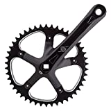 Origin8 Track/SS Crankset, 170mm x 46t, Black