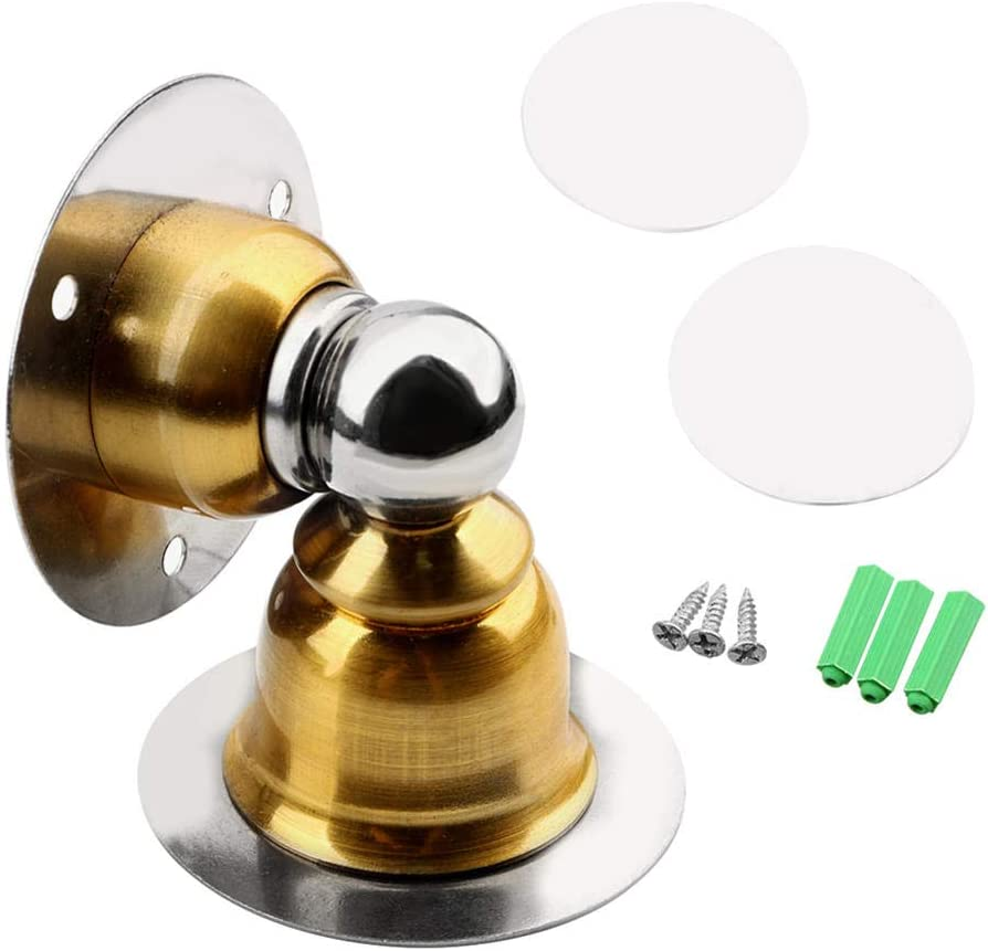 NKDbax Stainless Large discharge sale Steel Magnetic Door Nail-Free Doorstop Fashion Stopper