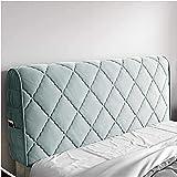 SSSW Cubierta de Cabecera Cubierta de Cabecera de Terciopelo Lavable Protector de Cabecera A Prueba de Polvo, Decoración del Dormitorio Es Adecuado para Cama Individual/Doble