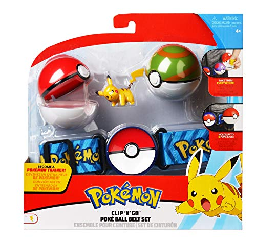 Bizak-63227236 Pokemon cinturón Ataque, Modelos aleatorios, Multicolor (63227236)