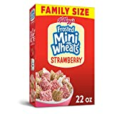 Kellogg's Frosted Mini-Wheats, Strawberry, 22 Ounce