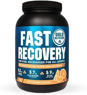 Goldnutrition Fast Recovery 1kg, Naranja, Bebida de Recuperación
