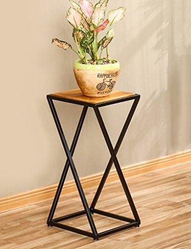 WSSF- Américain Simple Vintage Fer Fleur Stand Salon Chambre Fleur Pot Affichage Plateau Balcon Vert Plantes Fleur Rack Taille En Option (taille : 30 * 30 * 60cm)