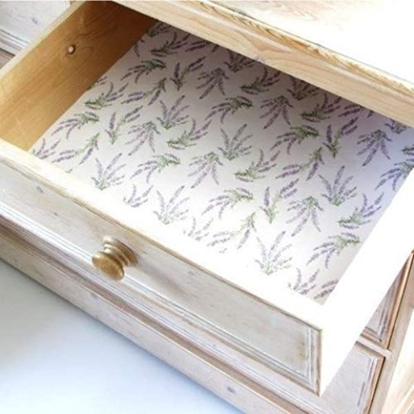 English Lavender Scented Drawer Liners Includes By Best British Gifts