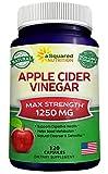 Pure Apple Cider Vinegar Supplement (120 Capsules) - Extra Strength...