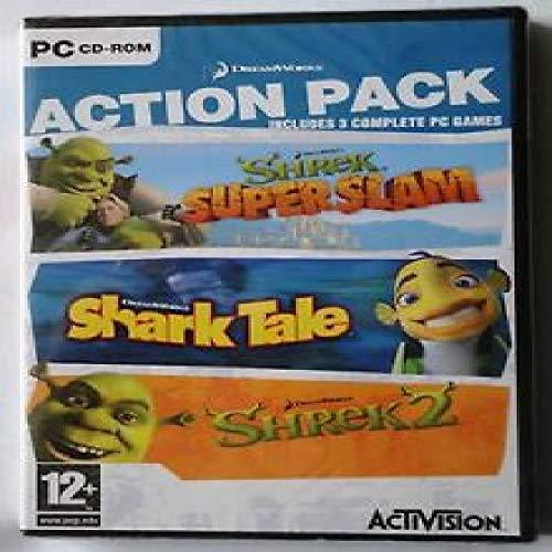 Shrek SuperSlam + Shark Tale + Shrek 2