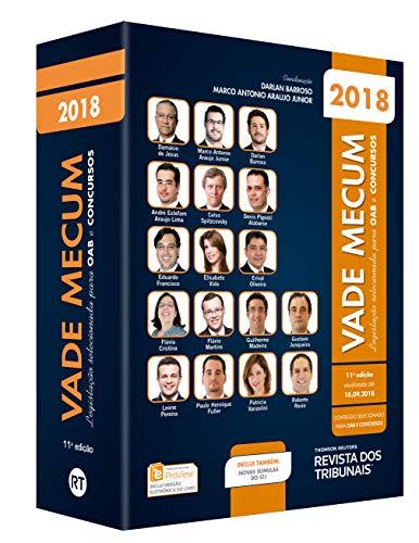 Vade Mecum Oab 2018. Legislação Selecionada Para Oab e Concursos