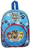 Sac à dos de sac d'école de vacances d'enfants de patte de patrouille avec la poche