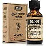 Hemp Oil 1000mg :: Hemp Oil for Pain :: Stress Relief, Mood Support, Healthy Sleep Patterns, Skin...