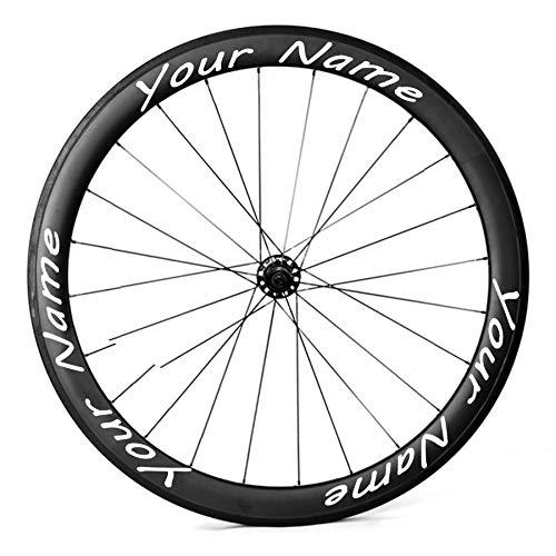 WXX QQBH Rueda de Bicicleta Personalizada Etiquetas engomadas de ...