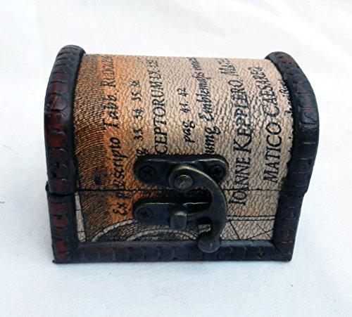 Generic Pirat Brust/Ox Kleine Map Design Holz Pirat Brust/Kabine Stamm Trinket Box, Pirat Brust/Kleines Karte niedlicher Bär < 1& 1299* 1>