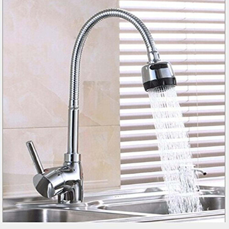SHLONG Tap Kitchen Faucet Hot and Cold Double Faucet Copper Mixed Faucet