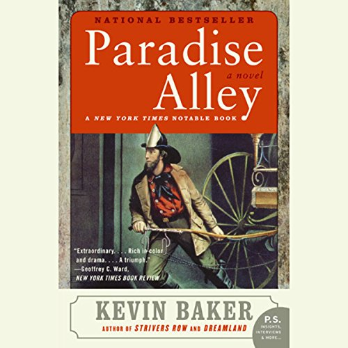 Paradise Alley cover art