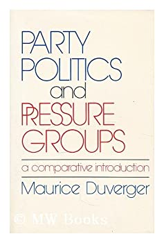 Paperback Party Politics and Pressure Groups: A Comparative Introduction Book