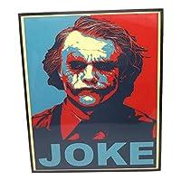 ジョーカー (2) The Joker アートパネル 壁掛け 据え置き 壁掛けフック付き アーティスト POPパネル インテリア アートフレーム ポスター cool クール 面白い かっこいい アート 雑貨 カフェ リビング 額付き 額入り 額縁 オシャレ バットマン 映画 マーベル